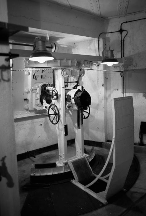 75-мм казематное орудие форта «Agaisen». 1939 г.