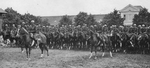 Румынский конный отряд. 1943 г.