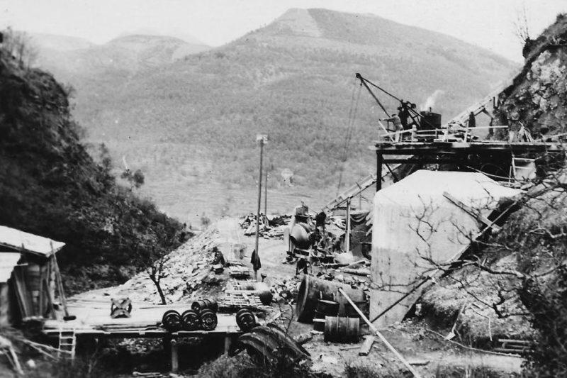 Строительство форта «Saint Roch». 1936 г.