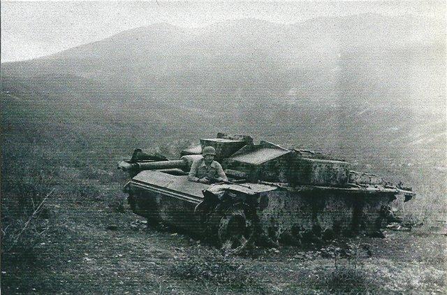 Немецкая САУ у горы Колдун. 1942 г.