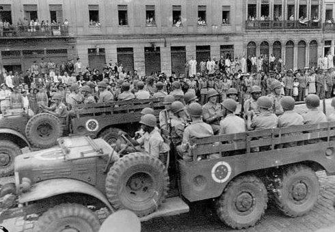 Военный парад в Рио-де-Жанейро. 1943 г.