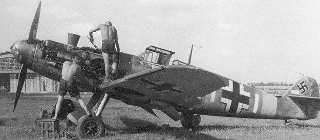 Бобруйский аэродром в руках у немцев Июль 1941 г.