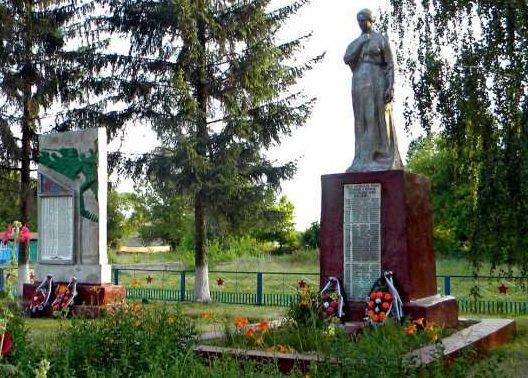 с. Мало-Солдатское Беловского р-на. Памятник воинам-односельчанам и братская могила, в которой похоронен 81 советский воин, в т.ч. 33 неизвестных, погибших в феврале 1943 года.