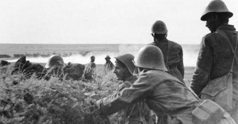 Румынские войска у реки Дон. 1942 г.