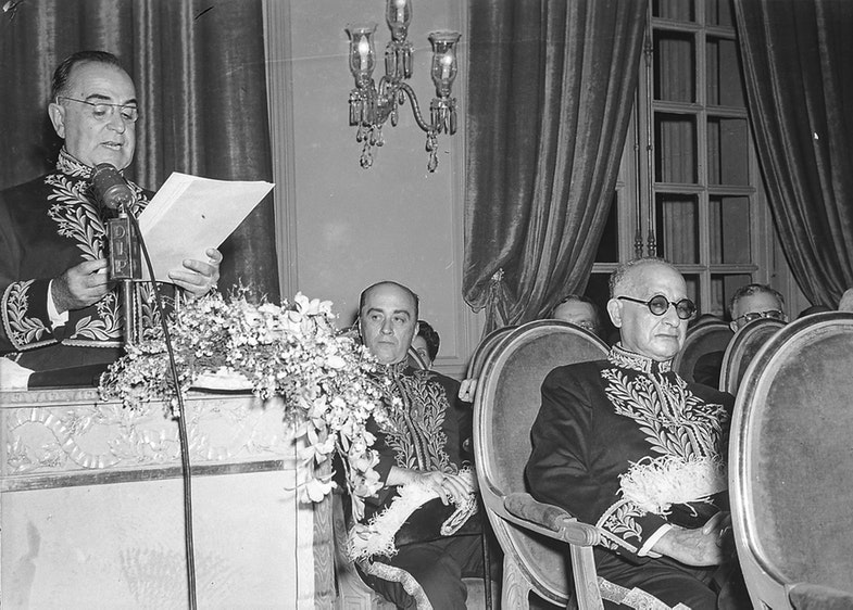 Президент Бразилии Жетулиу Варгас. 29 декабря 1943 г.