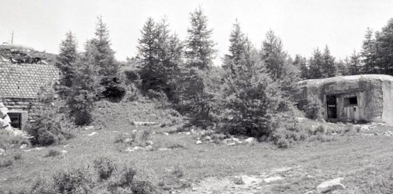 Боевые блоки форта «Col du Fort». 1937 г.