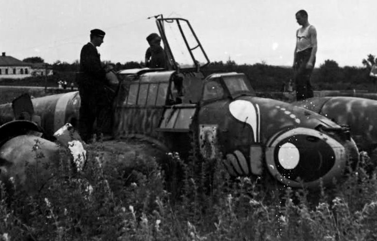 Немецкий аэродром. 1942 г.
