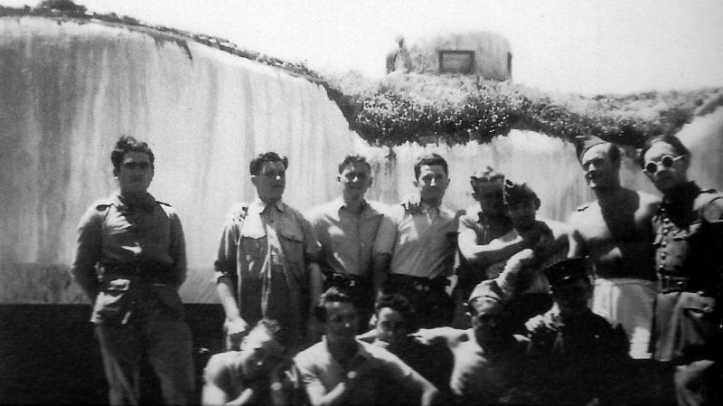 Защитники форта «Flaut». 1938 г.