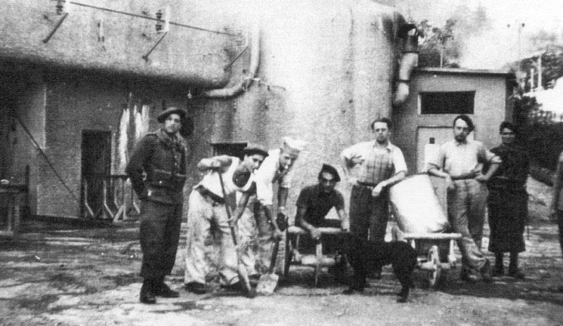 Защитники форта «Saint Roch». 1938 г.