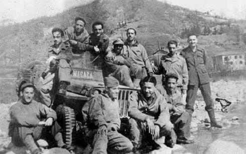 Военнослужащие бразильского экспедиционного корпуса в Италии. 1944 г.
