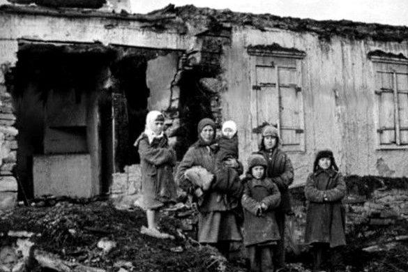 Городские дети. Осень 1941 г.