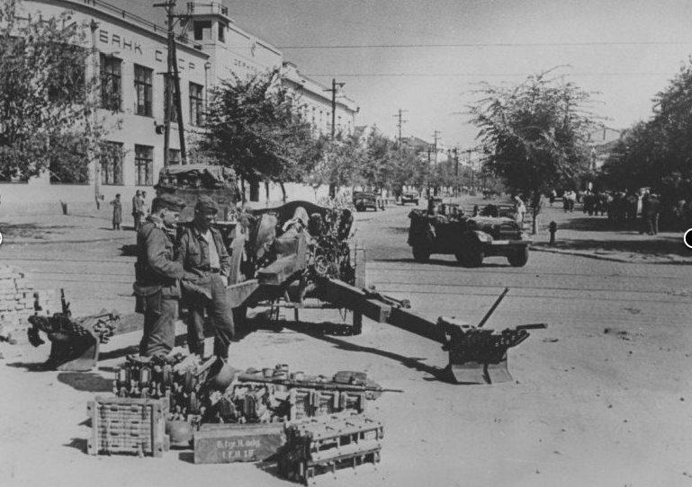 Оккупированный Новороссийск. 1942 г.