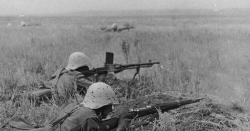 Румынские войска в обороне. 1942 г.