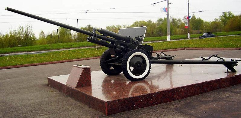 Памятник-пушка ЗИС-2.