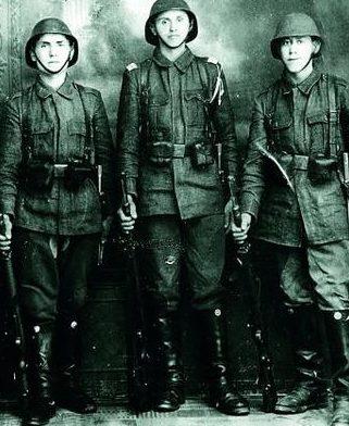 Румынские кавалеристы. 1942 г.