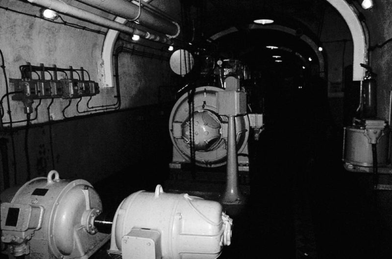 Дизель-генератор форта «Agaisen». 1938 г.