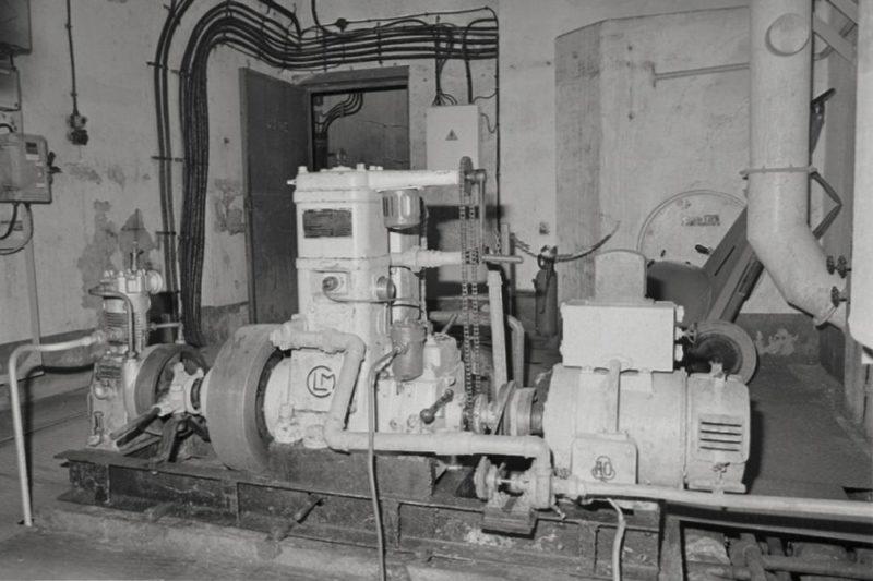 Машинный зал форта «Saint Roch». 1939 г.