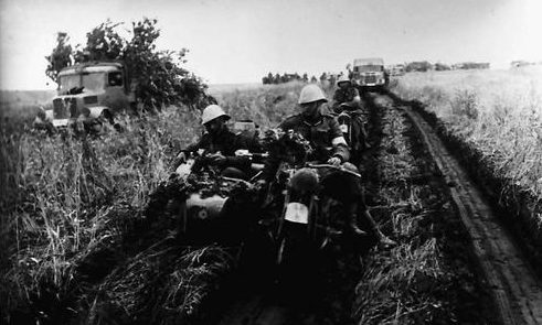 Румынские войска в Приднестровье. Июнь 1941 г.