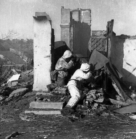 Бой за город. Февраль 1943 г.