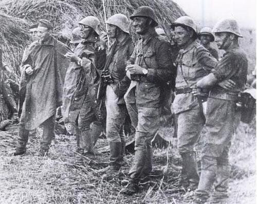 Офицеры 9-го полка «Рошиори». Кавказ, 1942 г.