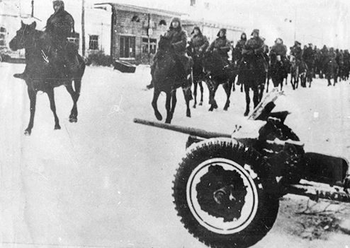 Конники-гвардейцы. Корпус Белова. 1941 г.