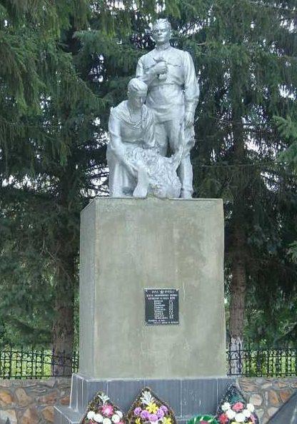 с. Беседино Курского р-на. Братская могила советских воинов, погибших во время освобождение села.