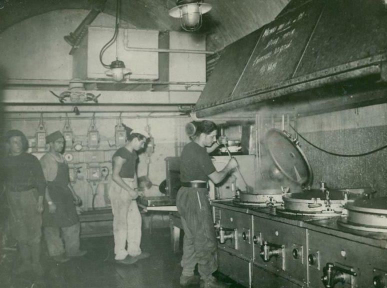 Кухня форта «Mont-des-Welches». 1939 г.
