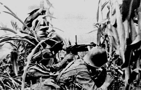 Румынская пехота в Бессарабии. Июнь 1941 г.