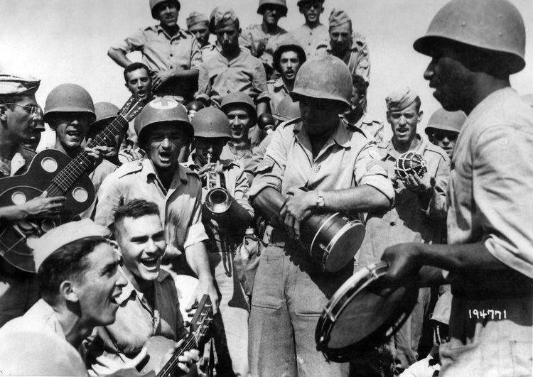 Во время отдыха. Италия, сентябрь 1944 г.