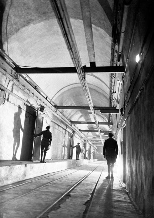 Галереи форта «Hackenberg». 1939 г.