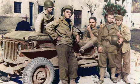 Бразильская пехота в Италии. 1944 г.