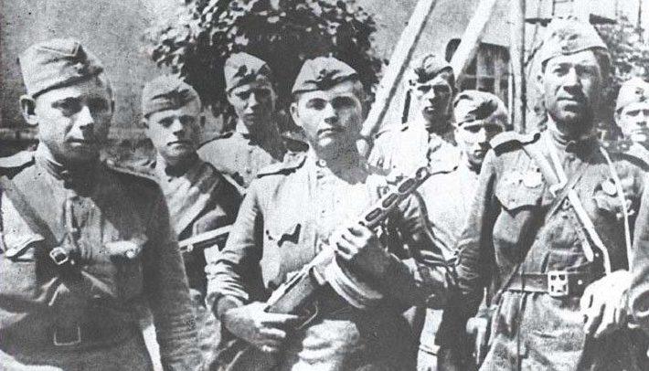 Освободители Бобруйска. Июнь 1944 г.