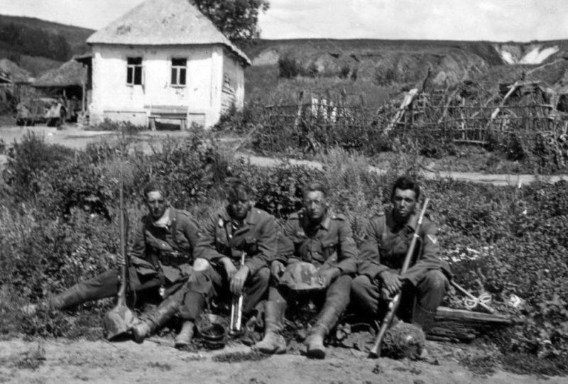 Пригород Белгорода, Михайловский плацдарм. 5 июля 1943 г.