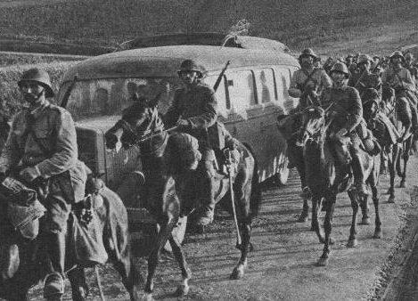 Румынская кавалерия в Бессарабии. Июль 1941 г.
