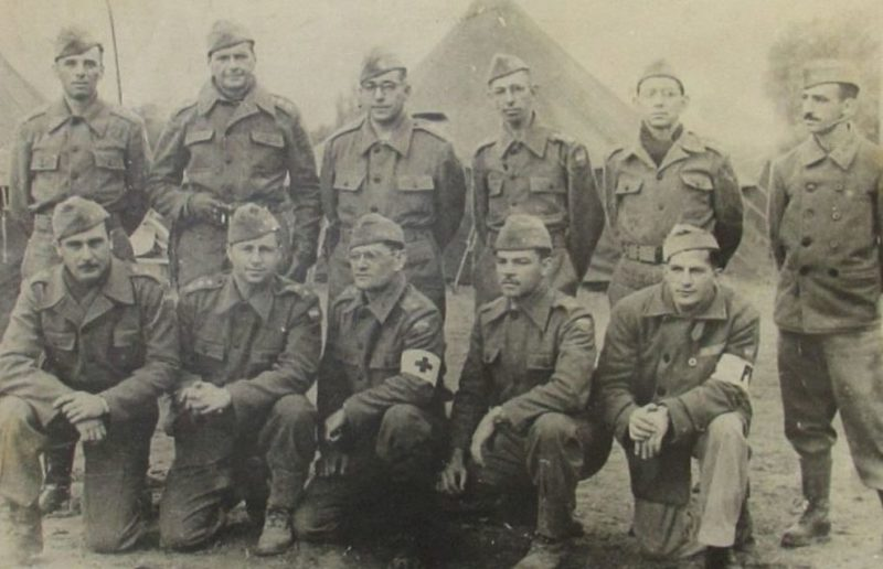 Военные медики. Италия, 1944 г.