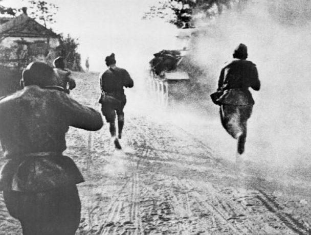 Бой в пригороде Белгорода. 5 августа 1943 г.