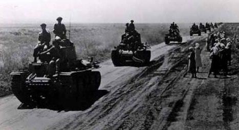 Румынские войска под Кишиневом. Июль 1941 г.