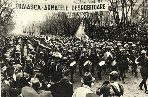 Румынская армия вошла в Кишинев. Август 1941 г.