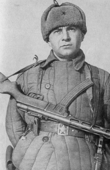 Майор Цезарь Куников. 1943 г.
