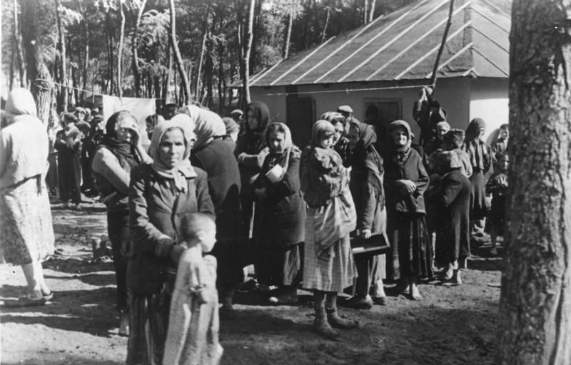 Концлагерь для евреев в Бессарабии. Сентябрь 1941 г.
