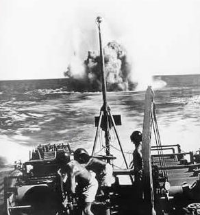 ВМС Бразилии в противолодочной войне. 1944 г.