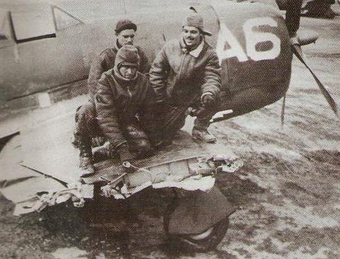 Возвращение на «израненном самолете». Аэродром Пизы, 27 января 1945 г.