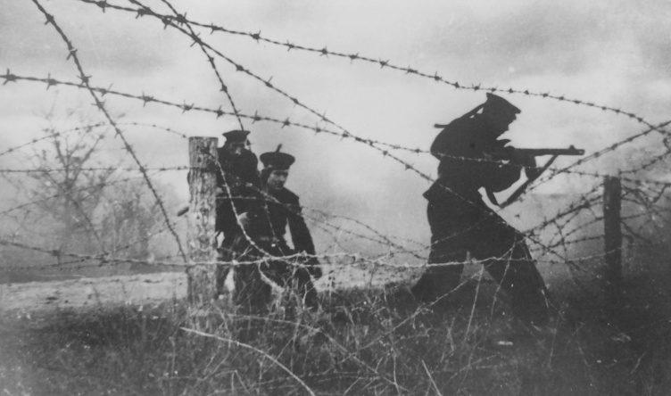 Десантники Черноморского флота во время боев за Новороссийск. 16 сентября 1943 г.