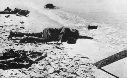Последние немецкие солдаты в Новороссийске. 1943 г.