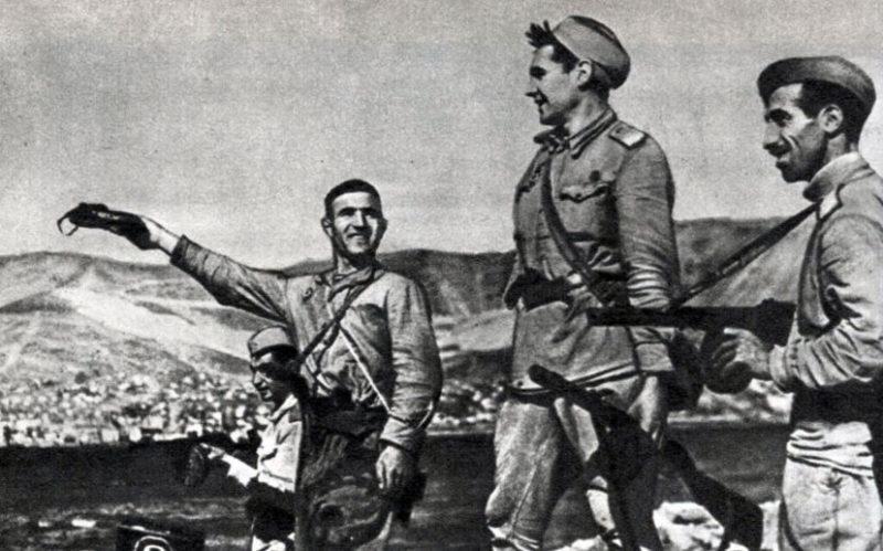 Новороссийск освобожден. Сентябрь 1943 г.