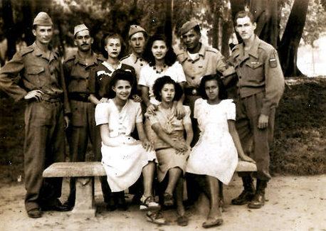 Бразильские солдаты после возвращения с войны. Рио-де-Жанейро, 19 июля 1945 г.