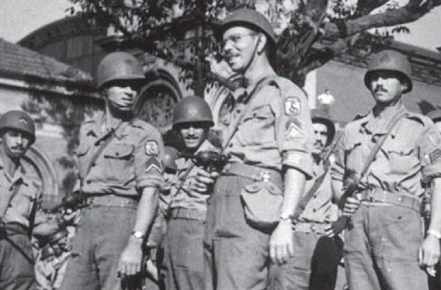 Бразильские ветераны на улицах Сан-Паулу. Август 1945 г.