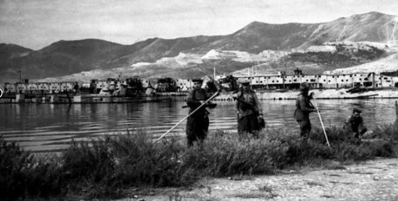 Разминирование города. Октябрь 1943 г.