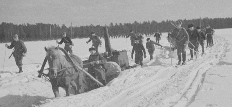 «Зимняя война». 1940 г.
