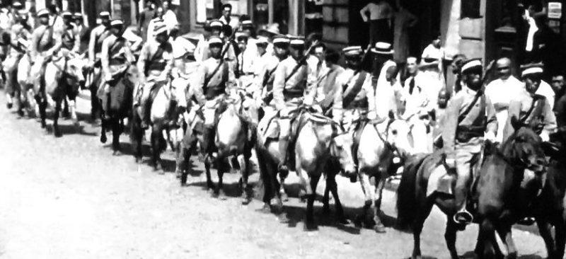 Японская кавалерия. 1939 г.